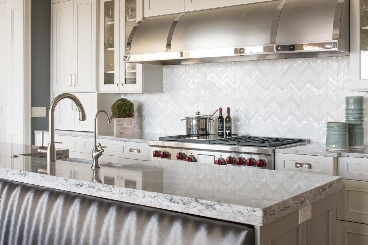Dura Supreme kitchen design by Michels Homes.