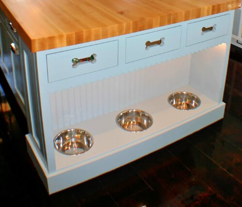 Design by Artisan Kitchens Inc. in Boston, MA