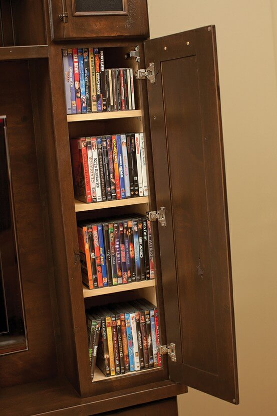 Media Center Cabinets from Dura Supreme Cabinetry