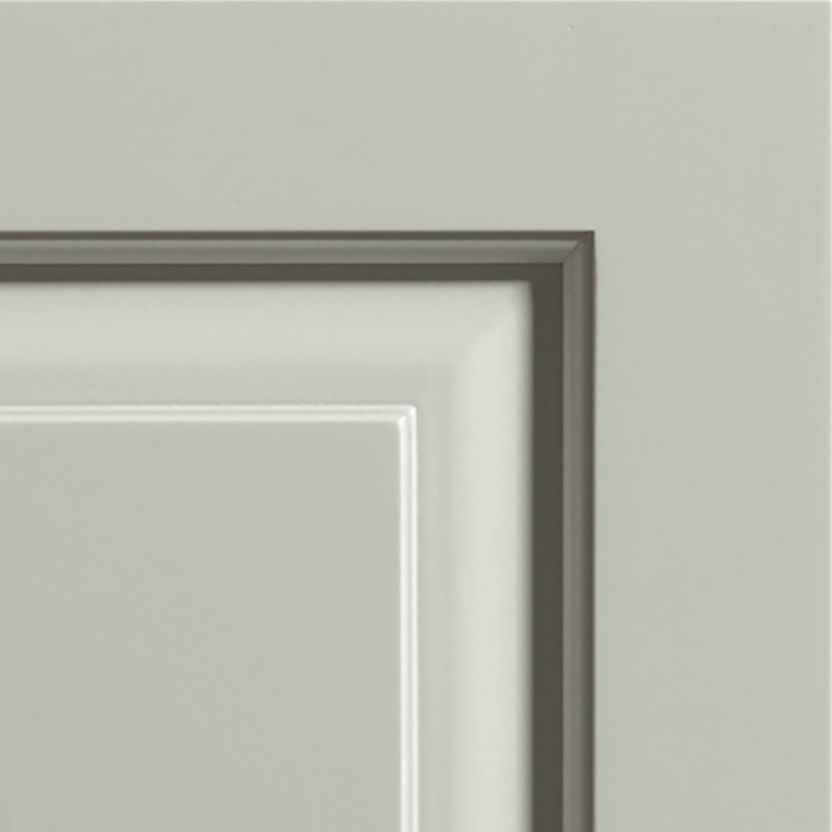 Moonstone paint by Dura Supreme in the Kendall door style.