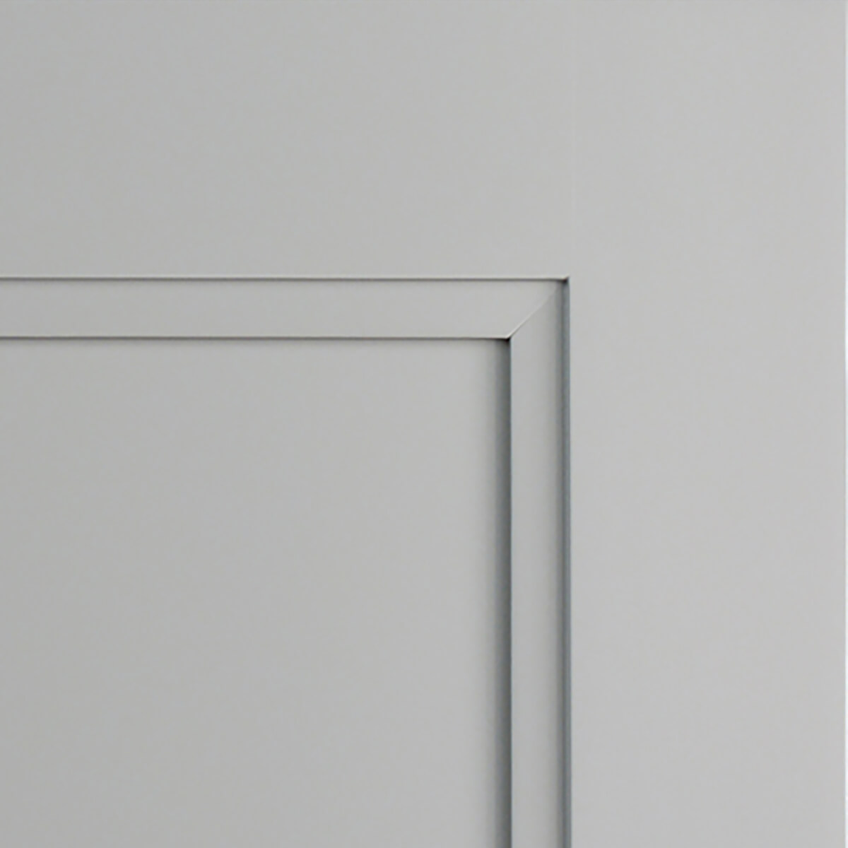 Zinc paint by Dura Supreme in the Dempsey door style