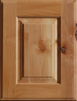 Knotty Alder Cabinets from Dura Supreme Cabinetry. Kitchen cabinet wood material options.