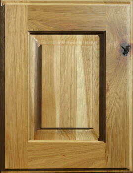 Rustic Hickory Cabinets from Dura Supreme Cabinetry. Kitchen cabinet wood material options.