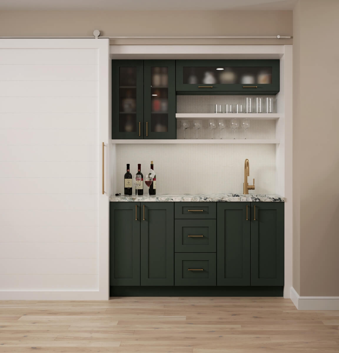 Dura Supreme cabinetry with a